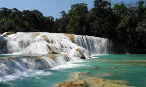 México, Agua Azul y Misol-Ha, Chiapas