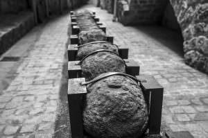 Bolas de catapultas