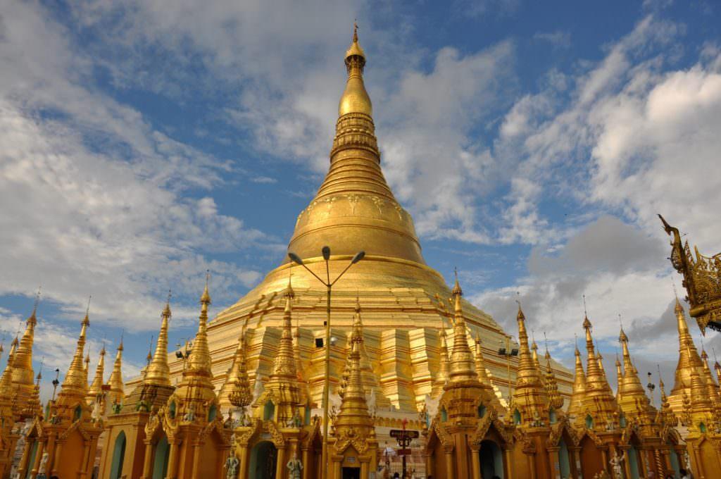 Yangon - Shwedagon paya