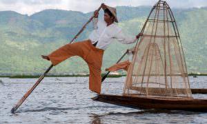 Myanmar, lago Inle