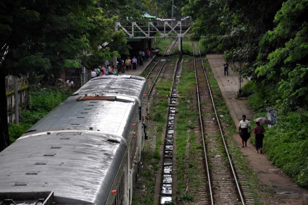 Yangon - tren cicrular