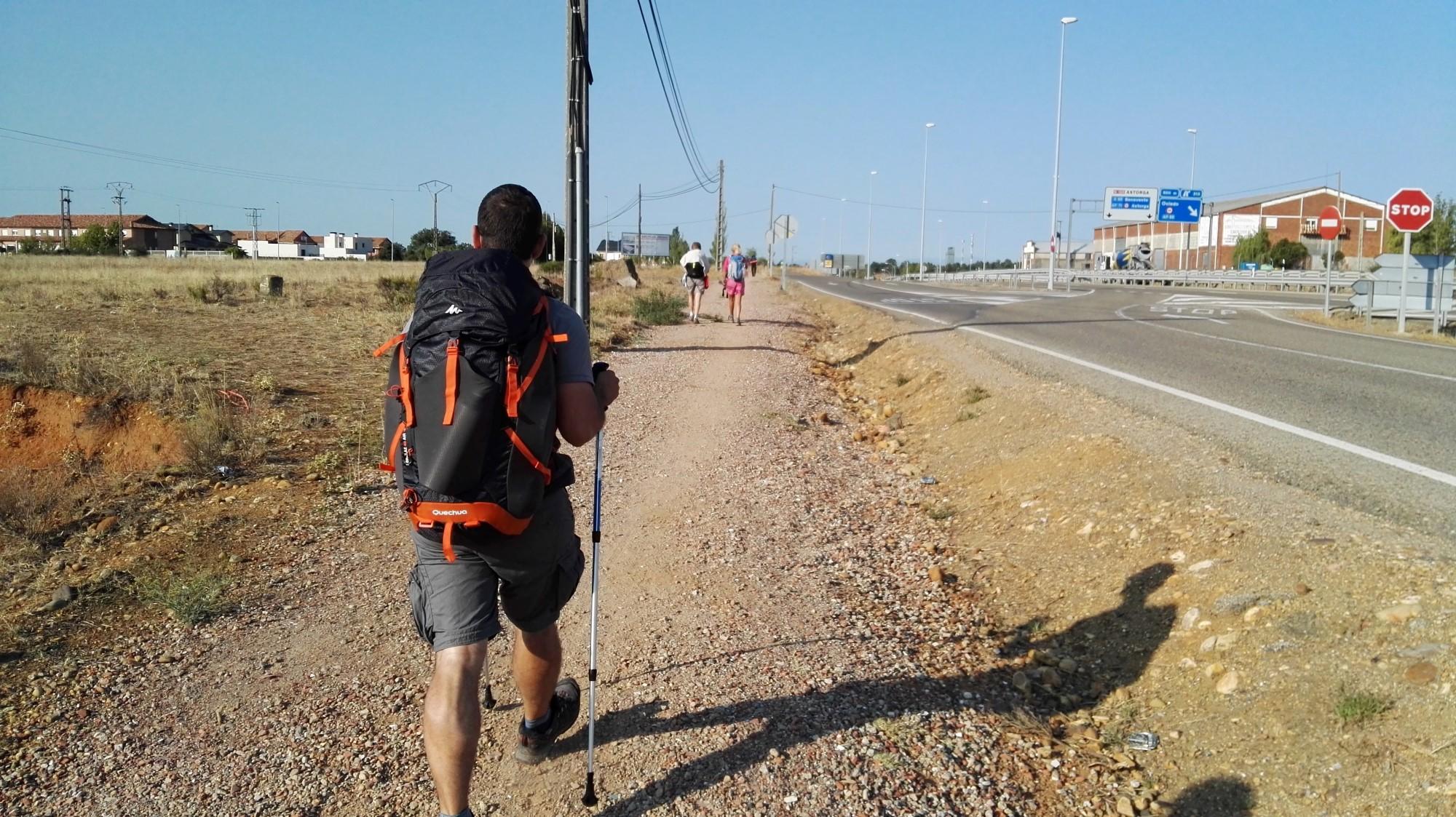 Camino de santiago etapa 4 le n san mart n del camino - San miguel del camino ...