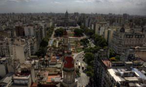 Buenos Aires: Congreso y tribunales
