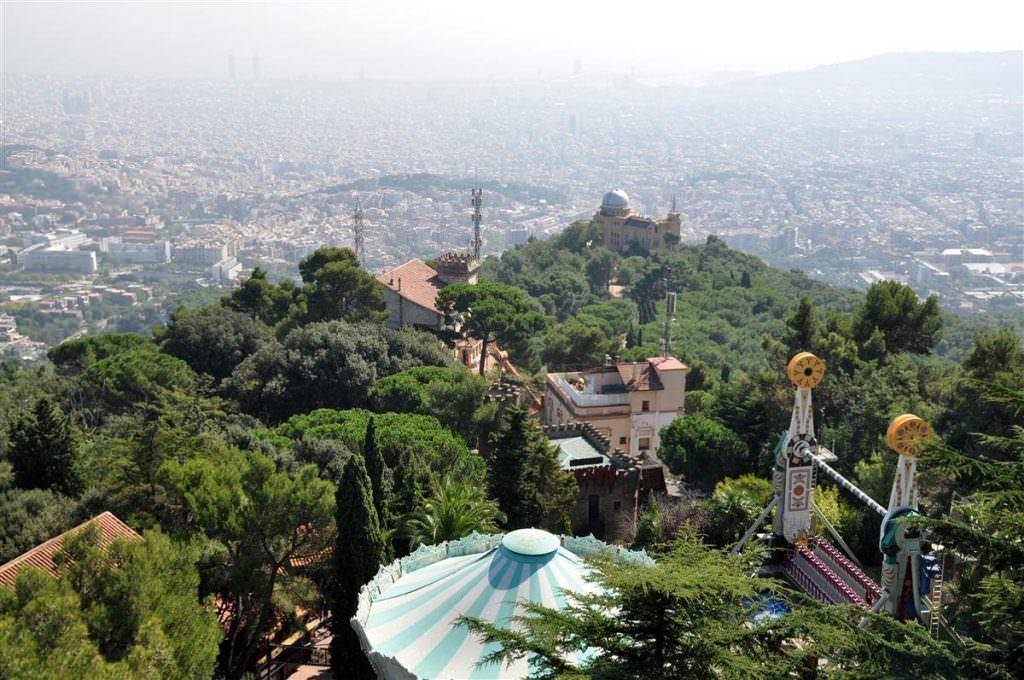 Tibidabo y barrios altos