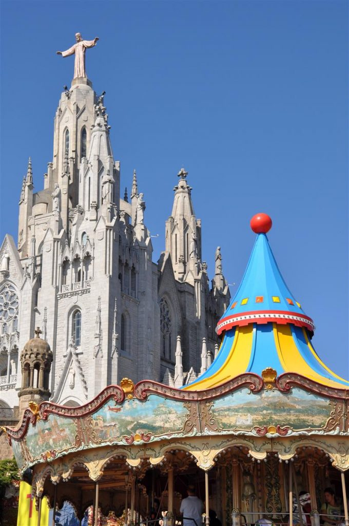 Tibidabo y barrios altos