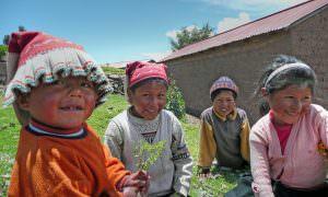 Perú, Lago Titicaca