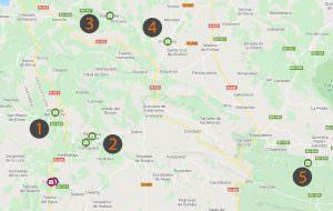 Burgos - Mapa Sedano y Merindades