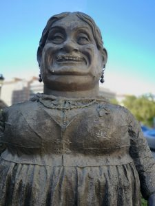 Burgos estatua